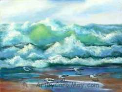 Alla Prima is my favorite style of oil painting. art by Carol May