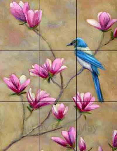 Artist Carol May shares painting composition made easy