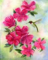 Spring Beauty an oil painting by Carol May