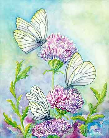 Now you know how to paint butterflies