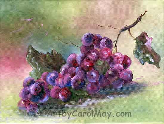 Learn Painting basic techniques of art with tutorials by the painting artist Carol May