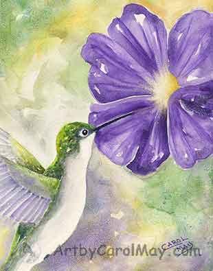 Hummer's Eye-view artist Carol May