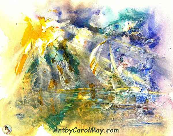 Freedom's Light - Prophetic Paintings by Carol May