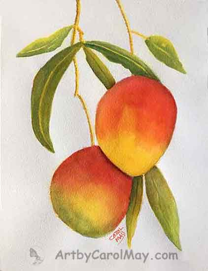 Learn how to do glazing with watercolor by artist Carol May